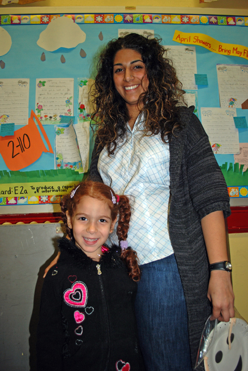 Mrs. Gaisi and her daughter