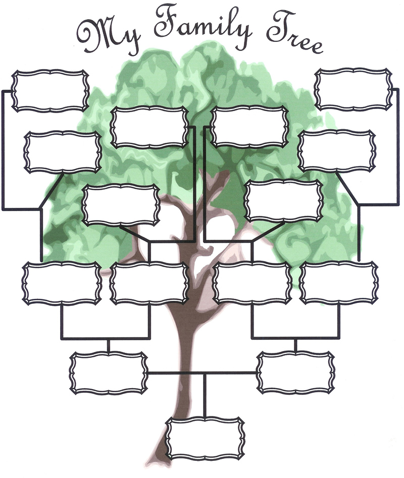 Family tree template new calendar template site for Interactive family tree template