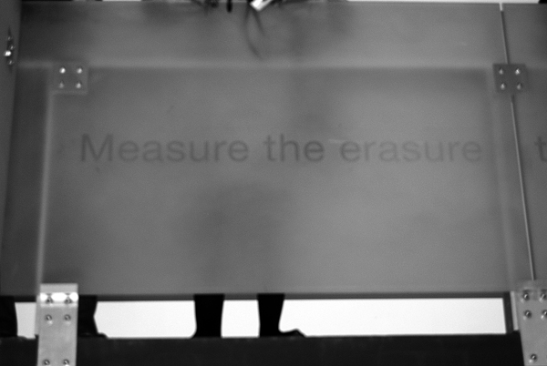 Measure The Erasure